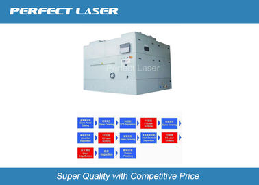 চীন 1064 Nm / 532 Nm Thin Film Laser Scribing Machine With CCD Alignment System কারখানা